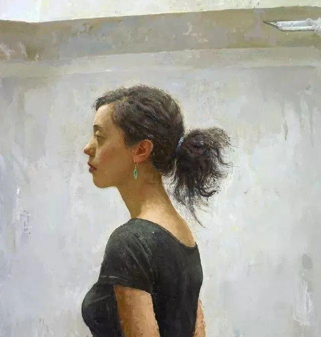 看画家邱瑞敏笔下美院的模特插图83