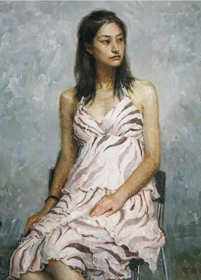 看画家邱瑞敏笔下美院的模特插图85