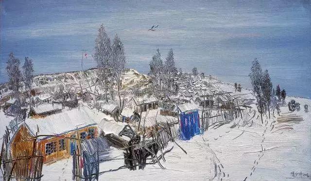 风景油画丨著名艺术家赵开坤的写意风景油画插图9