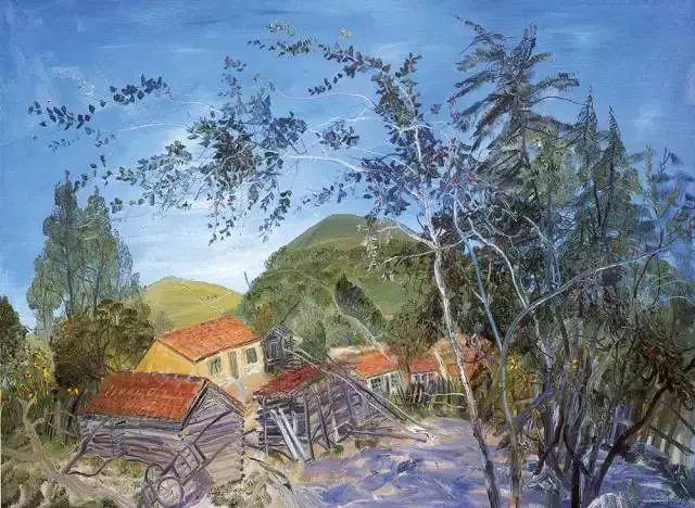 风景油画丨著名艺术家赵开坤的写意风景油画插图23