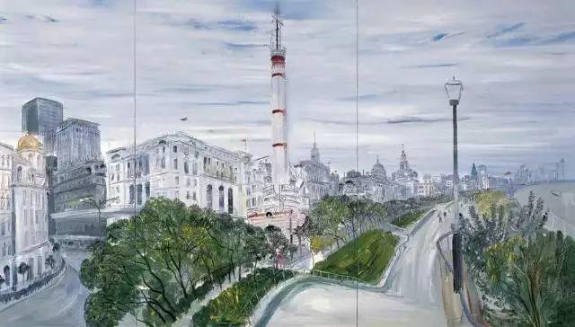 风景油画丨著名艺术家赵开坤的写意风景油画插图29