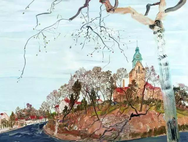 风景油画丨著名艺术家赵开坤的写意风景油画插图33
