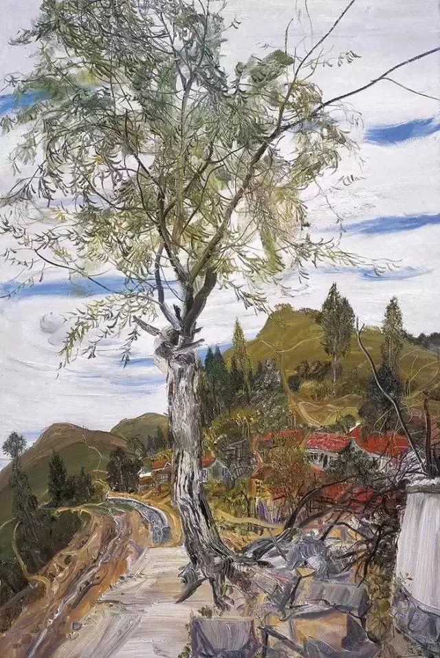 风景油画丨著名艺术家赵开坤的写意风景油画插图39