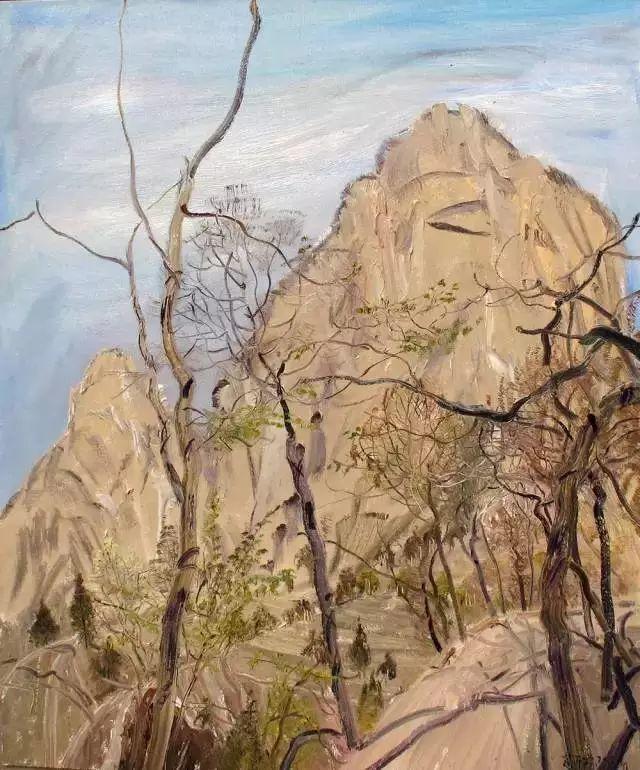 风景油画丨著名艺术家赵开坤的写意风景油画插图41
