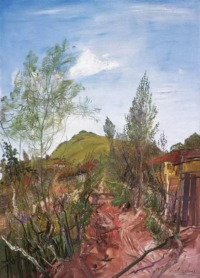 风景油画丨著名艺术家赵开坤的写意风景油画插图43