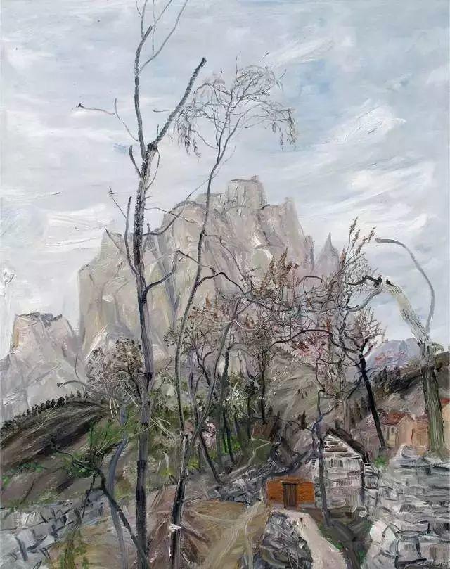 风景油画丨著名艺术家赵开坤的写意风景油画插图45