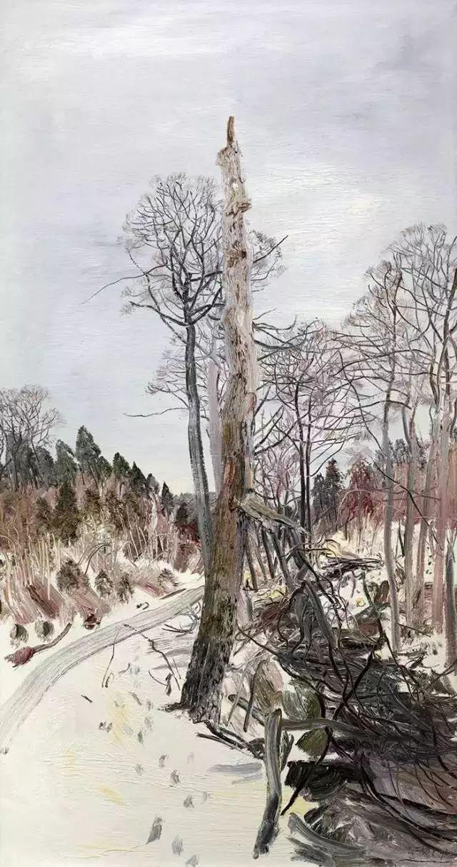 风景油画丨著名艺术家赵开坤的写意风景油画插图47