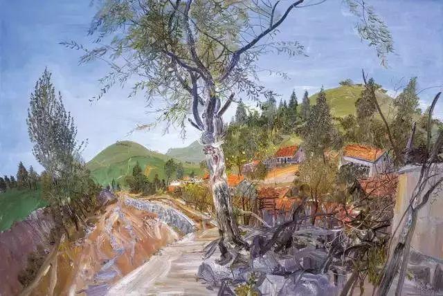 风景油画丨著名艺术家赵开坤的写意风景油画插图51