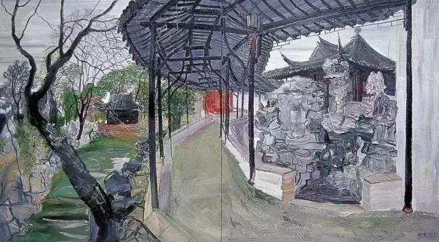 风景油画丨著名艺术家赵开坤的写意风景油画插图57