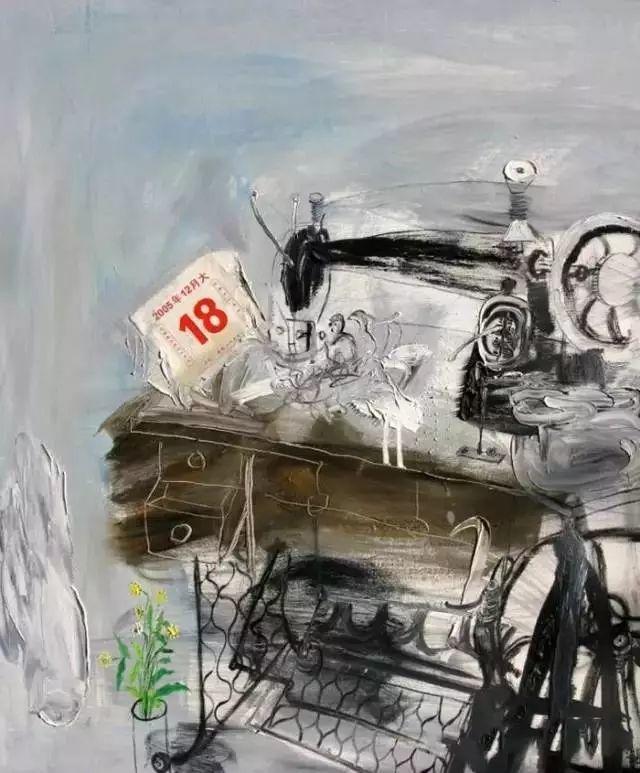 风景油画丨著名艺术家赵开坤的写意风景油画插图65