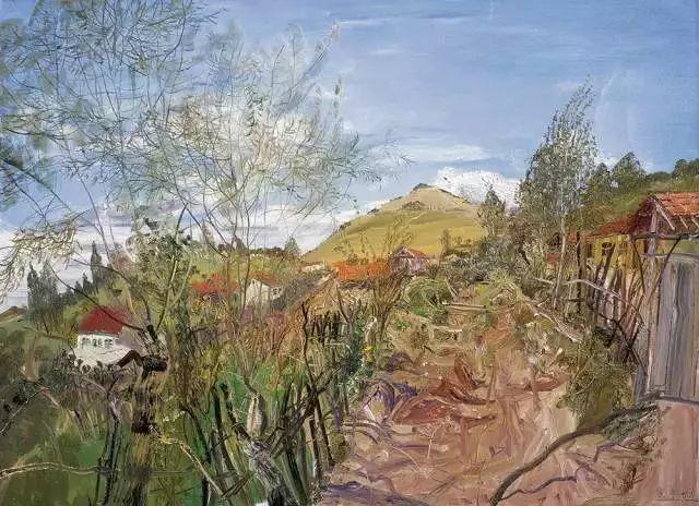 风景油画丨著名艺术家赵开坤的写意风景油画插图75