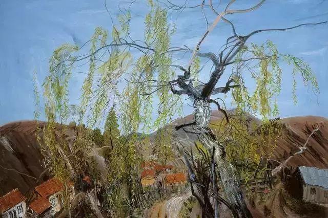 风景油画丨著名艺术家赵开坤的写意风景油画插图77