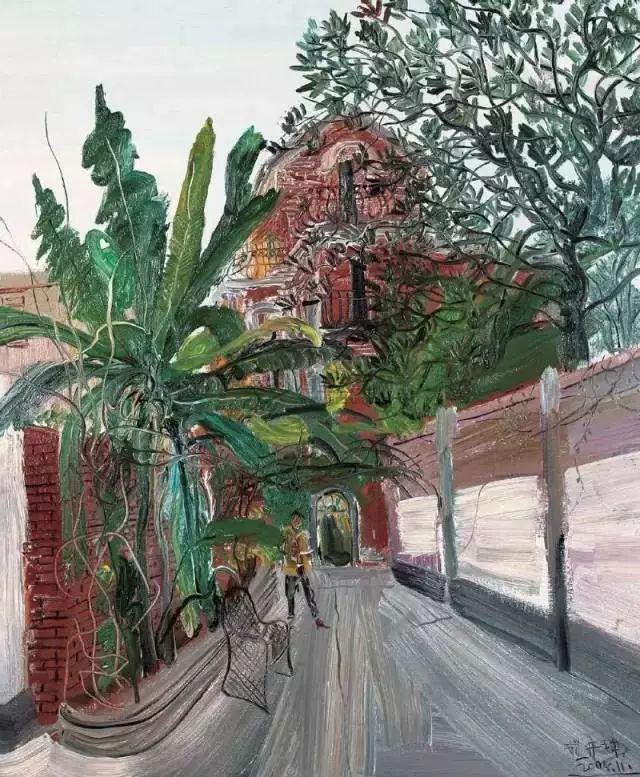 风景油画丨著名艺术家赵开坤的写意风景油画插图79