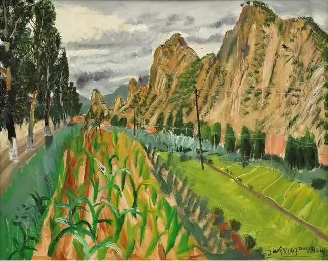 风景油画丨著名艺术家赵开坤的写意风景油画插图81