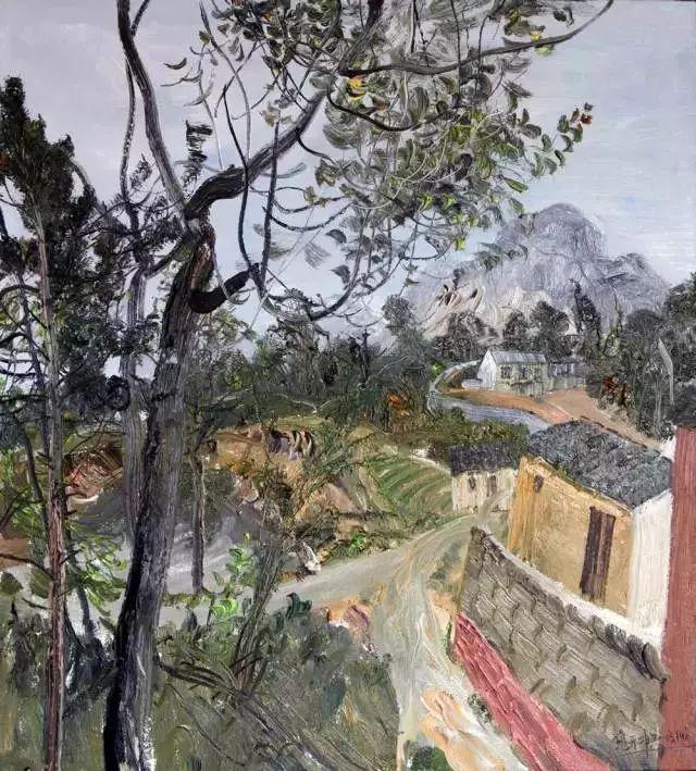 风景油画丨著名艺术家赵开坤的写意风景油画插图83