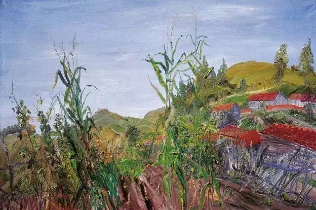 风景油画丨著名艺术家赵开坤的写意风景油画插图85