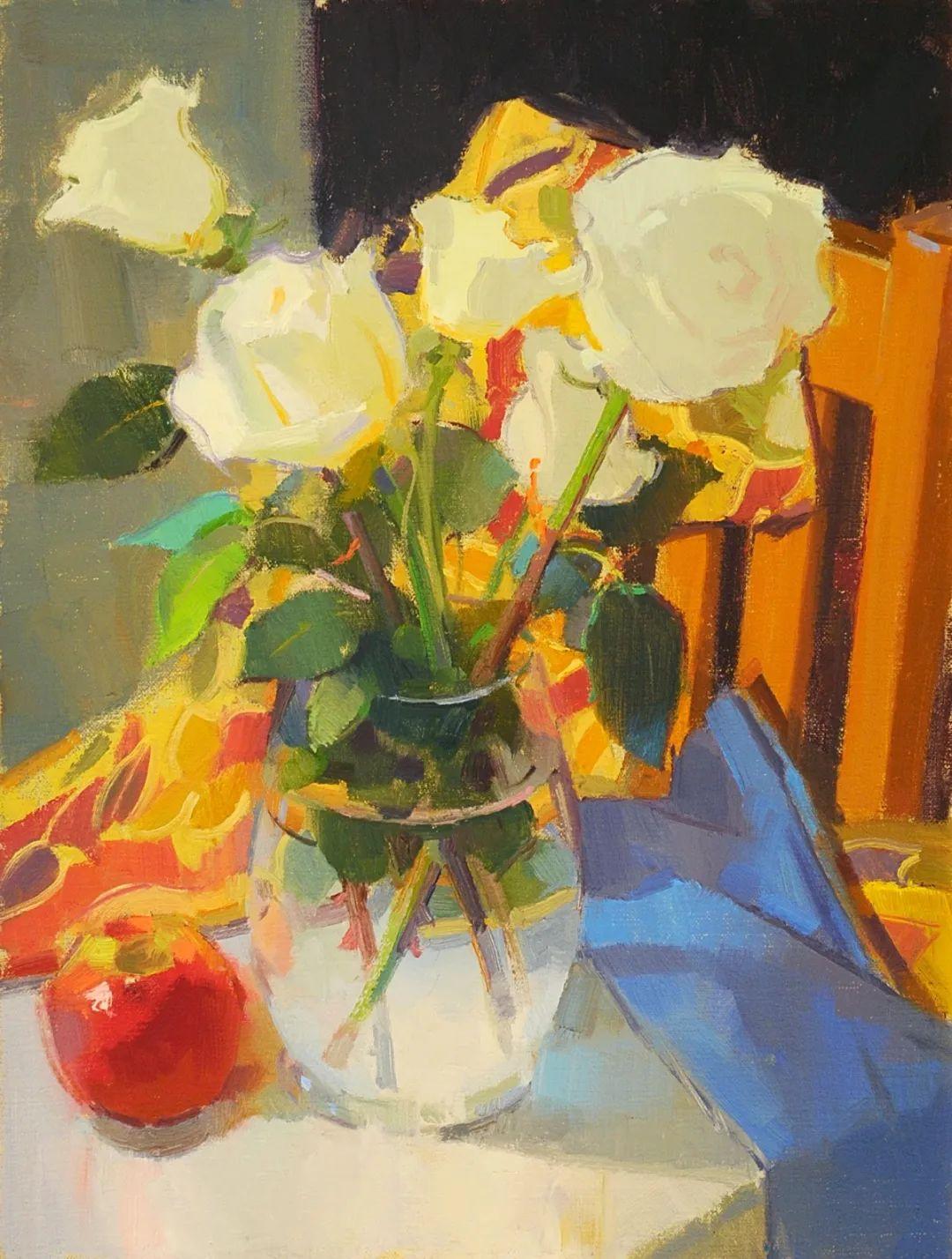 他是美国油画家协会大师级会员,两次获得金牌!插图1