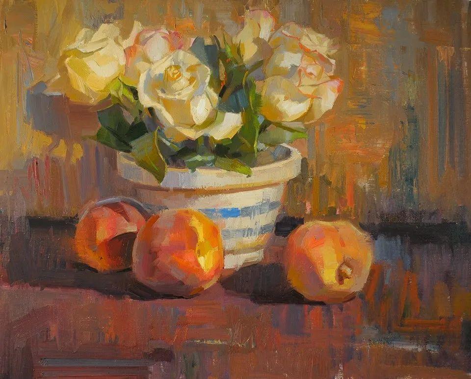 他是美国油画家协会大师级会员,两次获得金牌!插图3