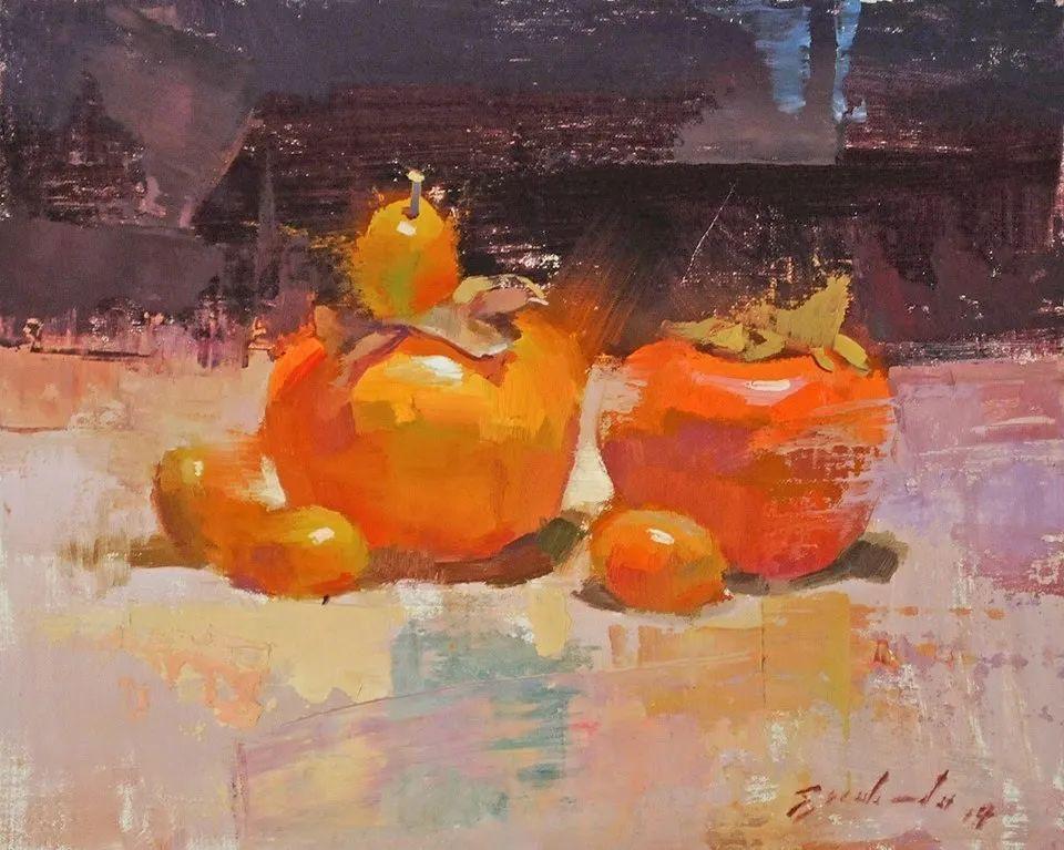 他是美国油画家协会大师级会员,两次获得金牌!插图5