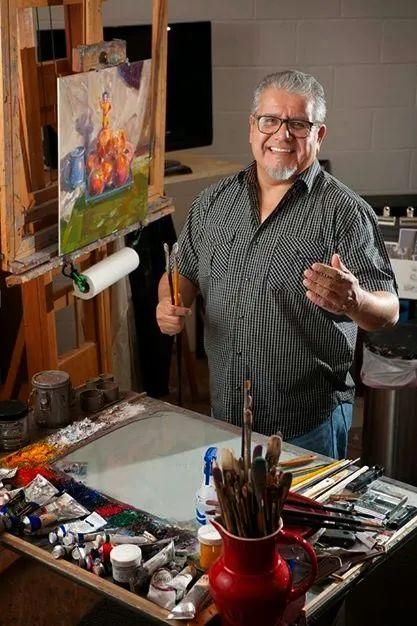 他是美国油画家协会大师级会员,两次获得金牌!插图11