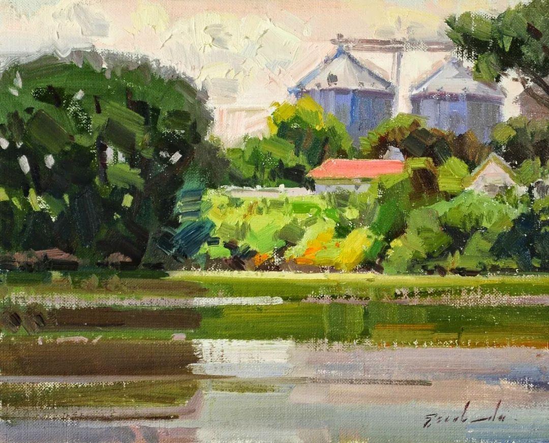 他是美国油画家协会大师级会员,两次获得金牌!插图15