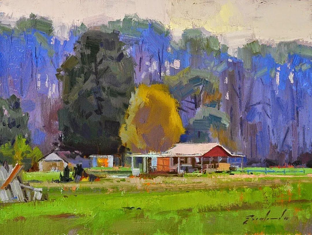 他是美国油画家协会大师级会员,两次获得金牌!插图17