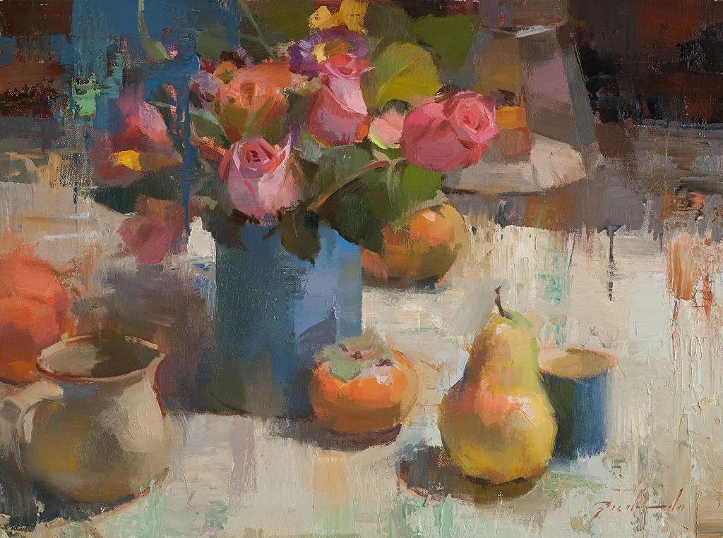 他是美国油画家协会大师级会员,两次获得金牌!插图19