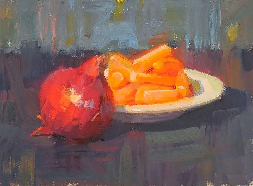 他是美国油画家协会大师级会员,两次获得金牌!插图21