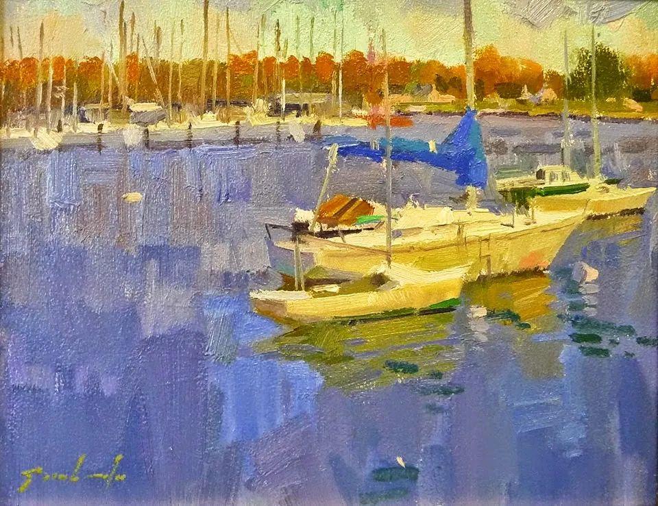 他是美国油画家协会大师级会员,两次获得金牌!插图27