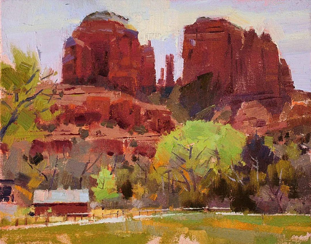他是美国油画家协会大师级会员,两次获得金牌!插图31