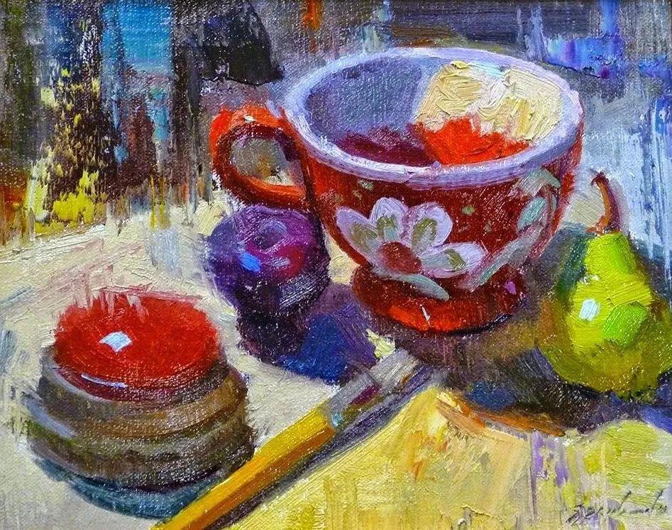 他是美国油画家协会大师级会员,两次获得金牌!插图37