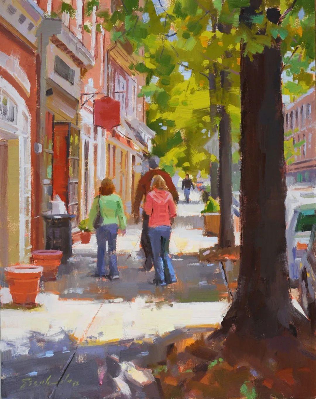 他是美国油画家协会大师级会员,两次获得金牌!插图49