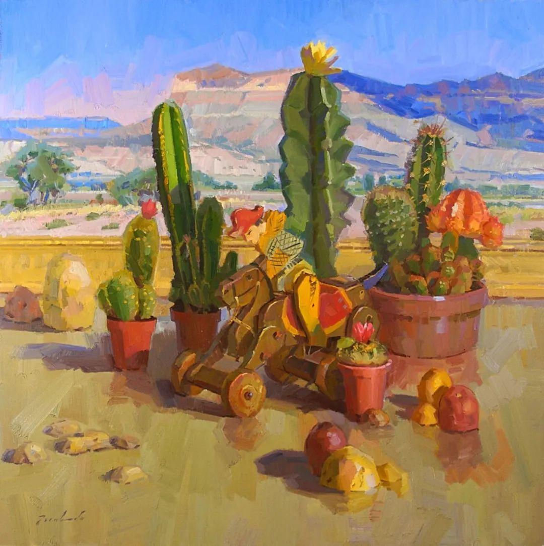 他是美国油画家协会大师级会员,两次获得金牌!插图51