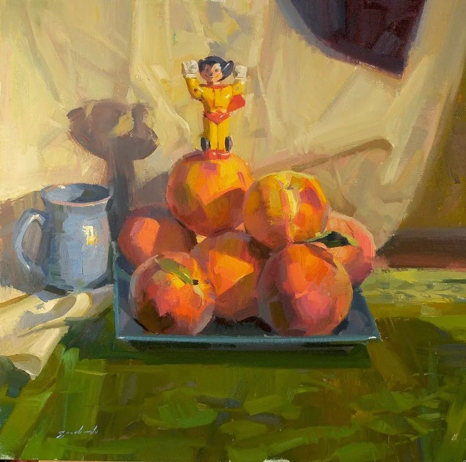 他是美国油画家协会大师级会员,两次获得金牌!插图53