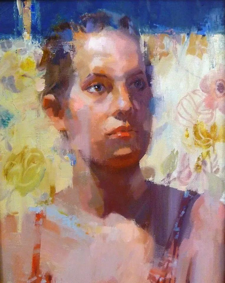 他是美国油画家协会大师级会员,两次获得金牌!插图61