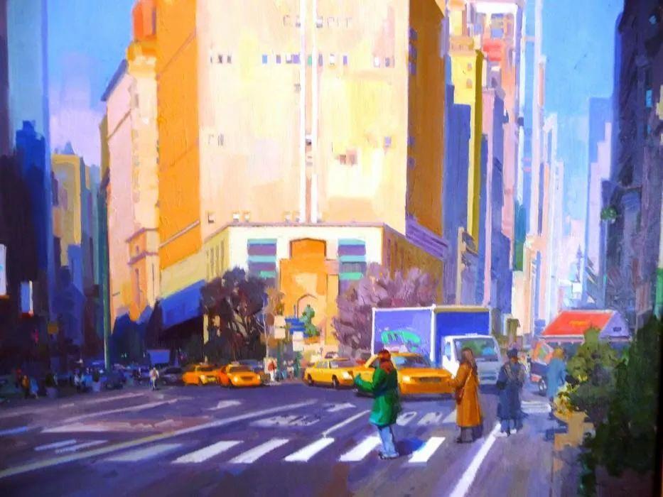 他是美国油画家协会大师级会员,两次获得金牌!插图71