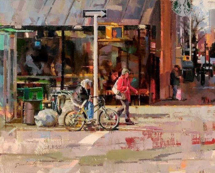 他是美国油画家协会大师级会员,两次获得金牌!插图75
