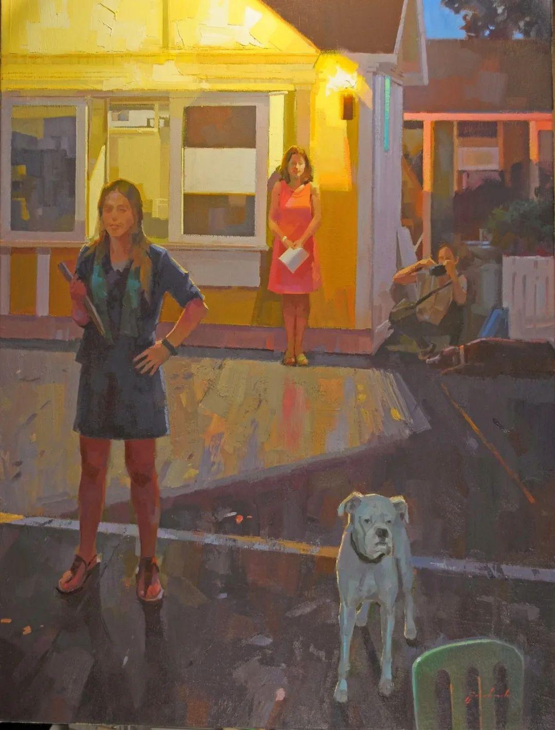 他是美国油画家协会大师级会员,两次获得金牌!插图77