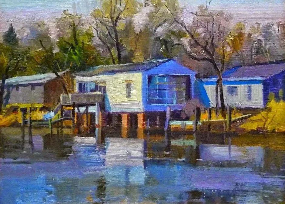 他是美国油画家协会大师级会员,两次获得金牌!插图79