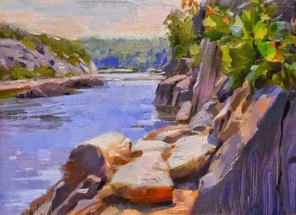 他是美国油画家协会大师级会员,两次获得金牌!插图81