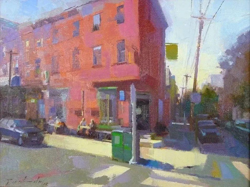 他是美国油画家协会大师级会员,两次获得金牌!插图83