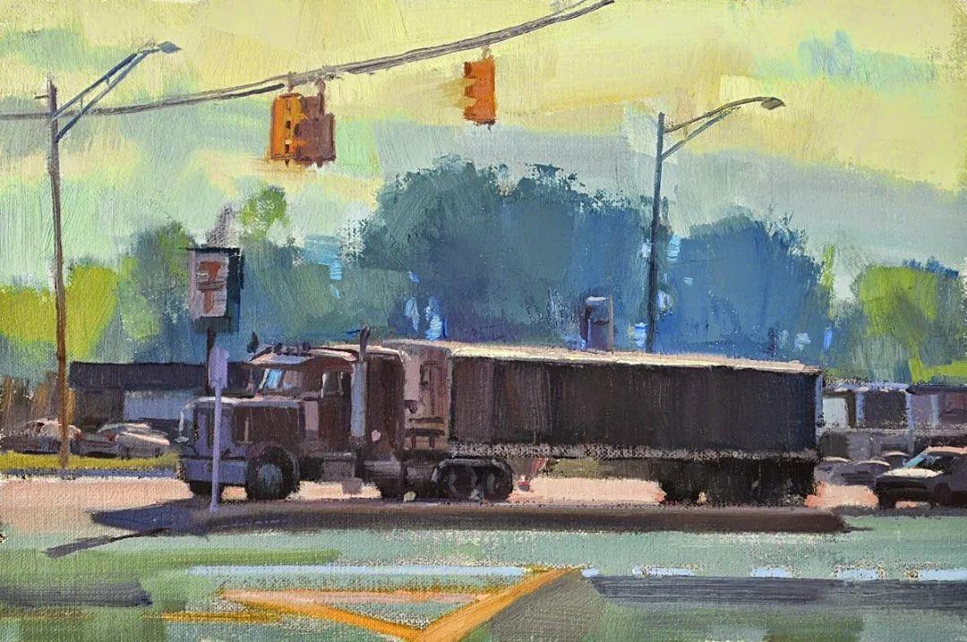 他是美国油画家协会大师级会员,两次获得金牌!插图85