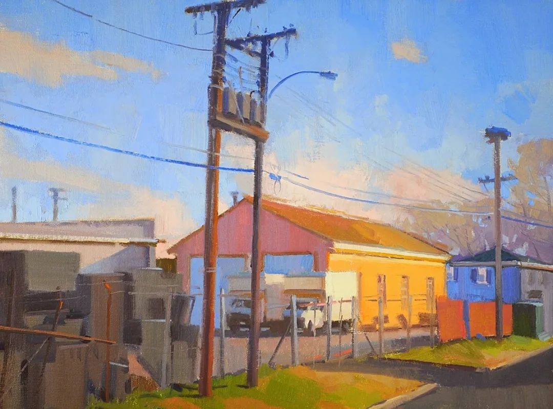 他是美国油画家协会大师级会员,两次获得金牌!插图87