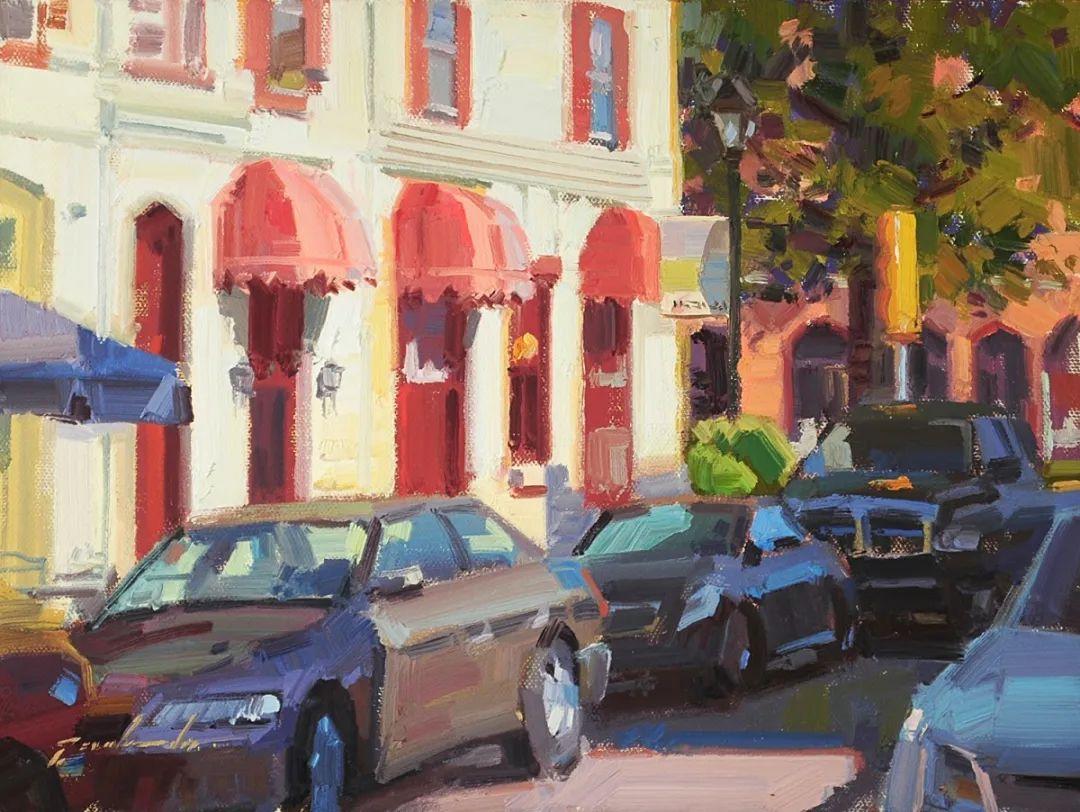 他是美国油画家协会大师级会员,两次获得金牌!插图89