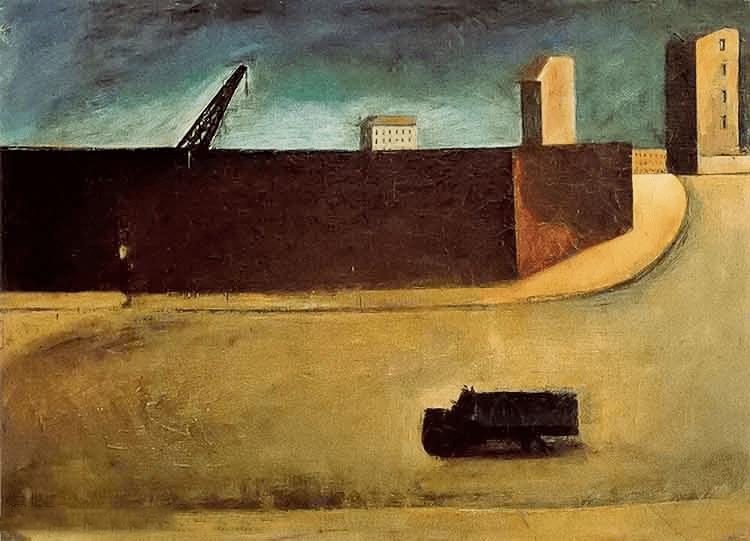 立体与未来主义的忧郁 | 意大利艺术家 Mario Sironi 绘画作品插图1