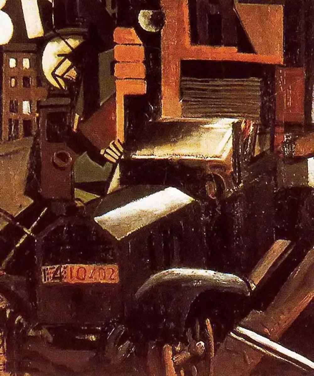 立体与未来主义的忧郁 | 意大利艺术家 Mario Sironi 绘画作品插图41
