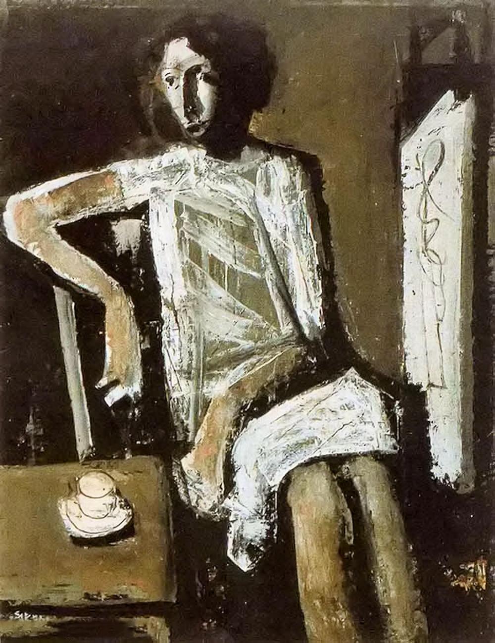 立体与未来主义的忧郁 | 意大利艺术家 Mario Sironi 绘画作品插图43