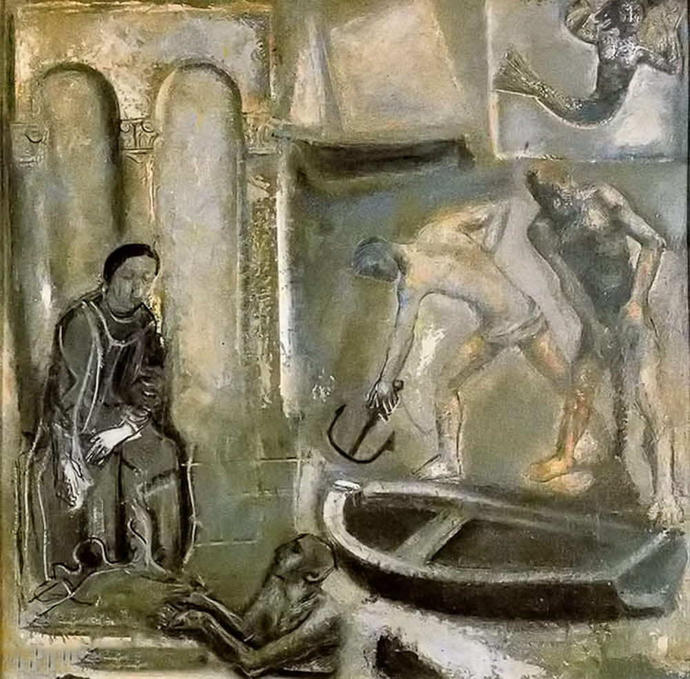 立体与未来主义的忧郁 | 意大利艺术家 Mario Sironi 绘画作品插图45