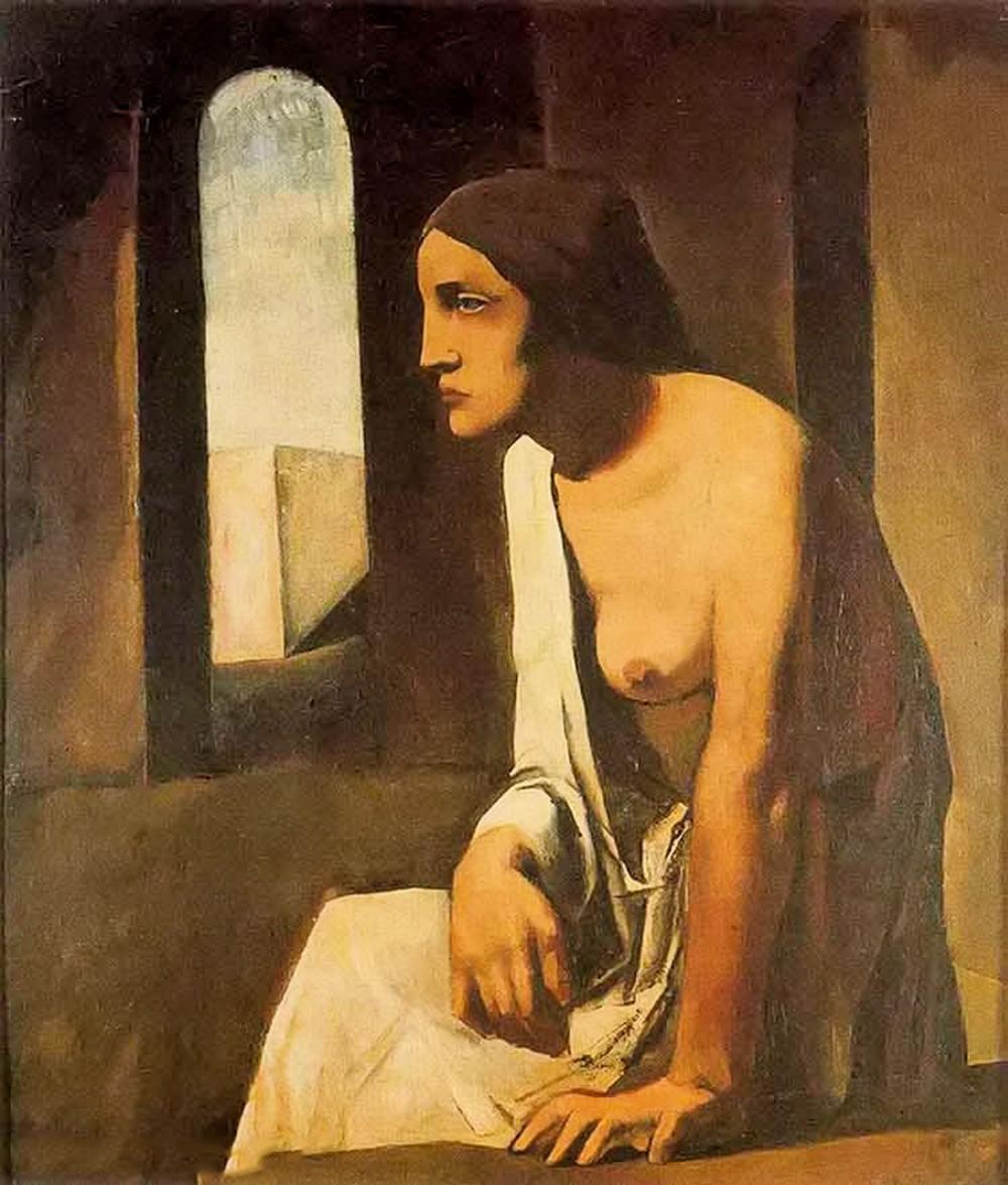 立体与未来主义的忧郁 | 意大利艺术家 Mario Sironi 绘画作品插图49