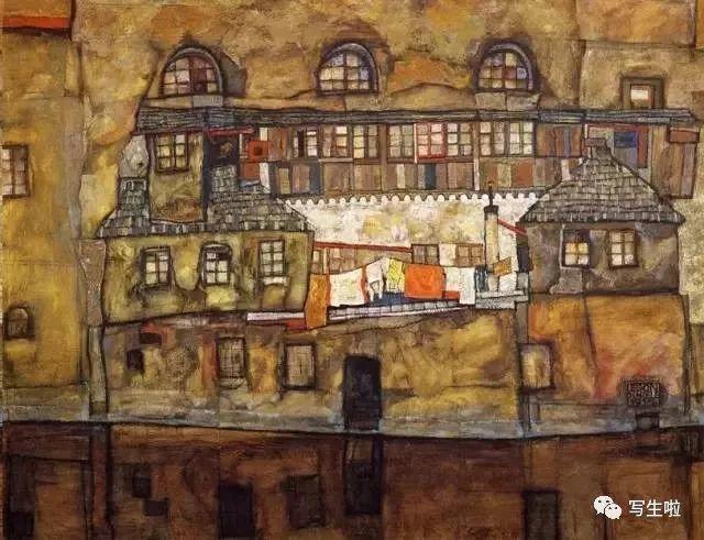 生命的疲惫与流逝——席勒笔下的房子插图5